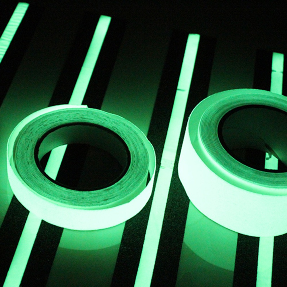 10M * 10mm Luminous Tape Self-adhesive Glow In Dark Safety Stage Home Decoration