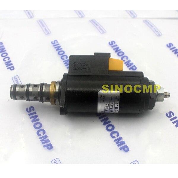 116-3526 KWE5K-31/G24E30-701A Rotary Solenoid Valve for 320B 320C Excavator