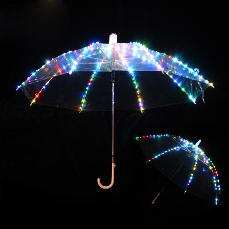 Nuove Donne Di Danza Del Ventre Ha Condotto La Luce Ombrello Regali Accessori Del Costume Di Ballo Della Fase Puntelli Magici Come Favolook Led 4 Colori