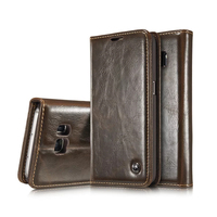 CaseMe Case For Samsung S5 Luxury Retro Leather Case For Samsung S4 S7 S6 Note 5