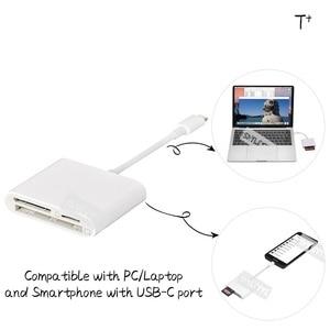 Image 4 - Lecteur de carte SD type c CF TF tout en 1 Kit appareil photo numérique pas besoin dadaptateur OTG USB C pour Xiaomi Samsung Macbook Pro