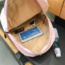 Waterproof Nylon Women Backpack Female Large capacity high schoolbag Korean Vintage girl Shoulder Bags Travel Bag Mochila