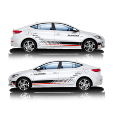 World Datong car styling sport sticker For Hyundai ELANTRA Mark Levinson  Both side body auto stickers