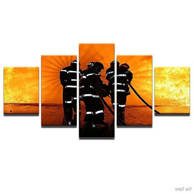 Cuadros modernos Sala HD impreso cartel Decoración para el hogar 5 ...