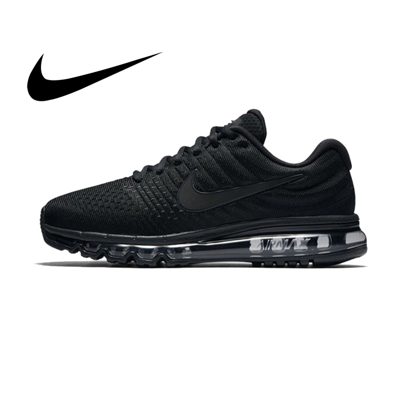 Original Authentic Nike AIR MAX Men's Running Shoes Fashion Breathable Outdoor Sports Shoes 2019 Fashion New 849559-004(China)