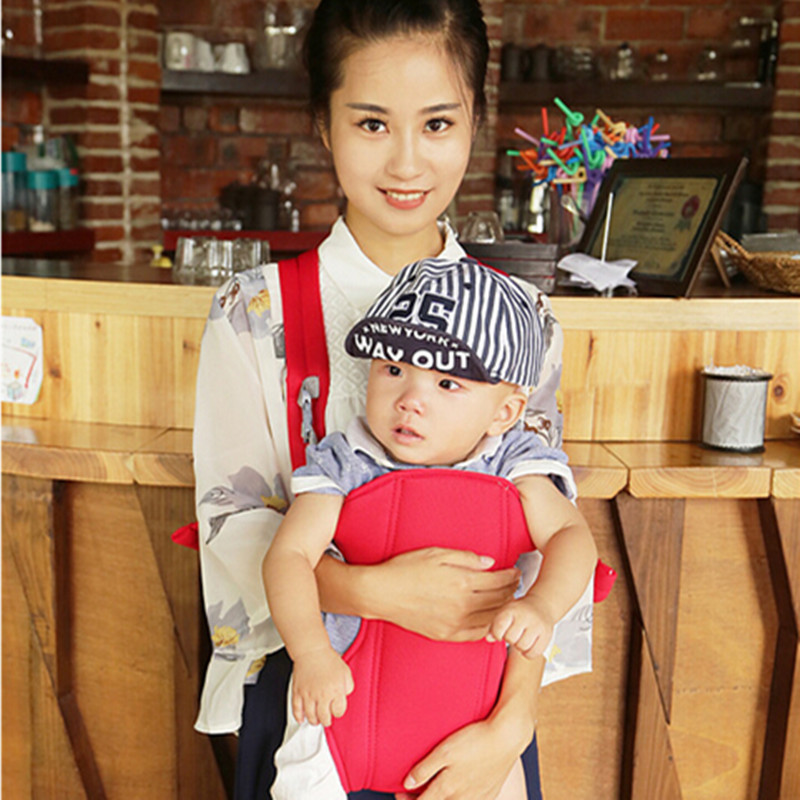 Купить с кэшбэком 4-18 Months Multifunctional Cotton Baby Carrier Toddler Wrap High Grade Baby Suspenders