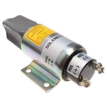 24V Diesel Engine Stop Solenoid Valve 2003-24E7U1B1S2A, 12V Shut Down Solenoid 2003-12E7U1B1S2A Shut Off Solenoid for SA-3838