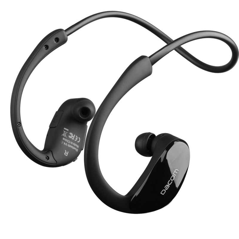 a690a30326b ... Original Dacom Athlete Bluetooth 4.1 headset Wireless headphone sports  stereo earphone with microphone NFC for iPhone ...