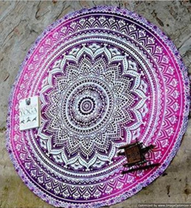 Image 5 - Psychedelic Mandala Hippie Bohemian Tapestries Wall Hanging Flower Psychedelic Tapestry Indian Dorm Decor for Living Room