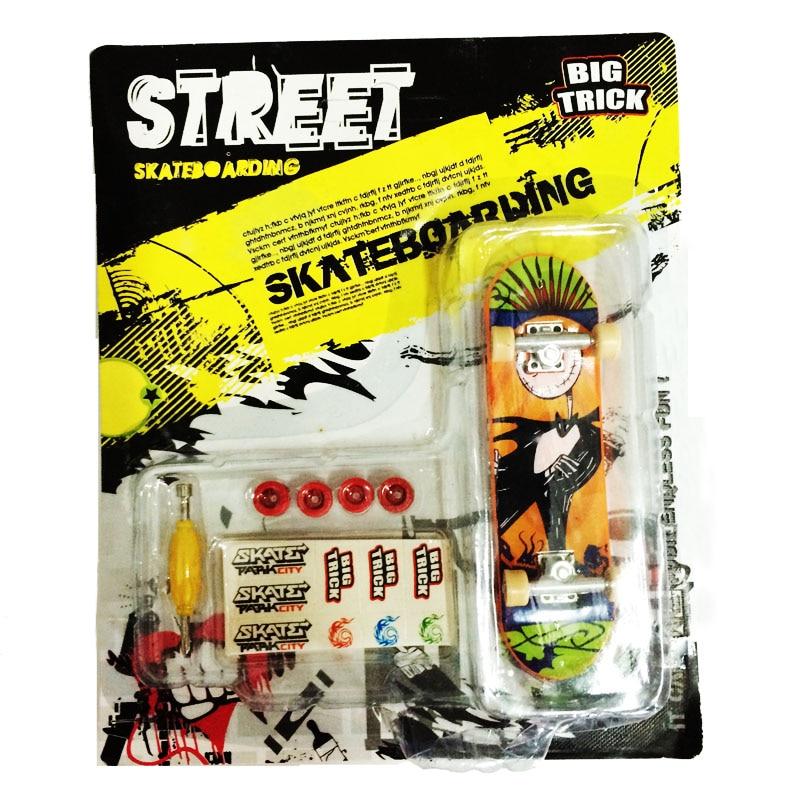 2019 Alloy Stand FingerBoard Mini Finger boards With Retail Box boys toys Skate trucks Finger Skate Board Toys for Boys