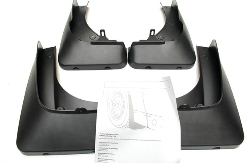 Car Mud Flaps Splash Guard 4pcs Plastic  For BMW X5 E70 2008-2013 цена 2017