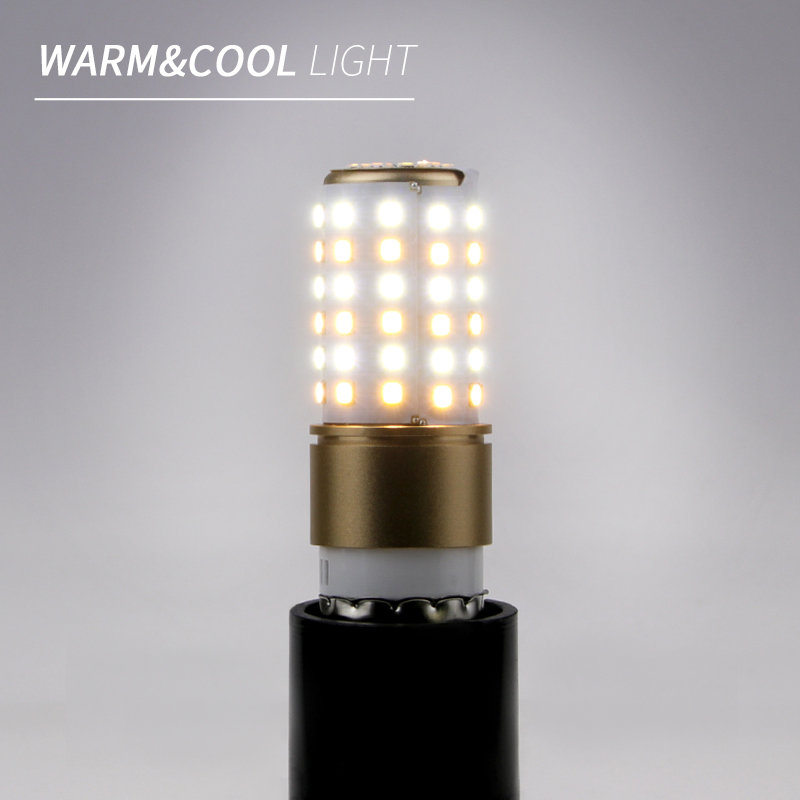 E27 220V LED Lamp SMD2835 LED Corn Bulb E14 LED Bombillas 20 50 70leds Three Color Temperature Light Warm/White Lampara Lighting
