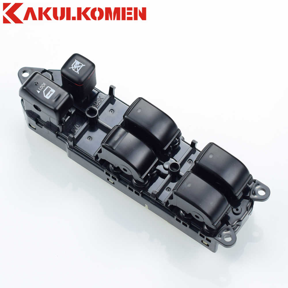 Master Power Window Regulator Saklar Kontrol Tombol 84040-60052 84040-48140 84040-0E011 untuk Lexus GX470 LX470 RX300/ 330/350/400 H