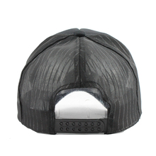 Hip Hop Black leopard Print Curved Baseball Caps Summer Mesh Snapback Hats For Women Men casquette Trucker Cap