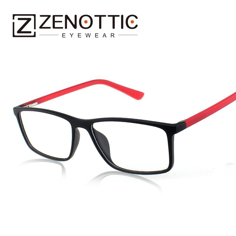 ▽2018 de diseño de moda unisex TR90 memoria plástico gafas óptica ...