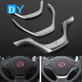 Car Styling ABS Steering Wheel U Frame Cover Decoration Trim Accessories For BMW 1 3 Series F20 F21 F30 F31 F34 chrome Stick