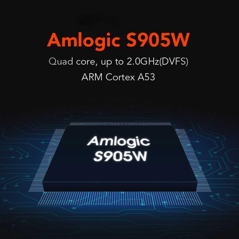 Mxq Pro 2 Гб 16 Гб Smart Android 7,1 tv Box Amlogic S905W 1 ГБ 8 ГБ H265 4 K 2,4 ГГц WiFi медиаплеер MXQPro IP tv Box PK X96 mini