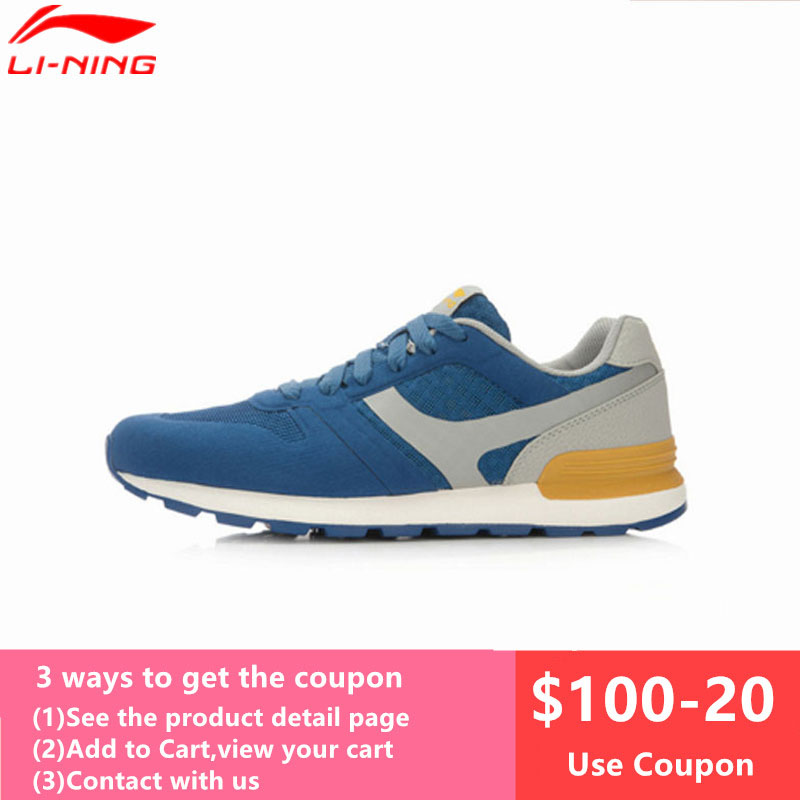 Lining Running-Shoes Jogging Lightweight Breathable Men's L573OLC Gym