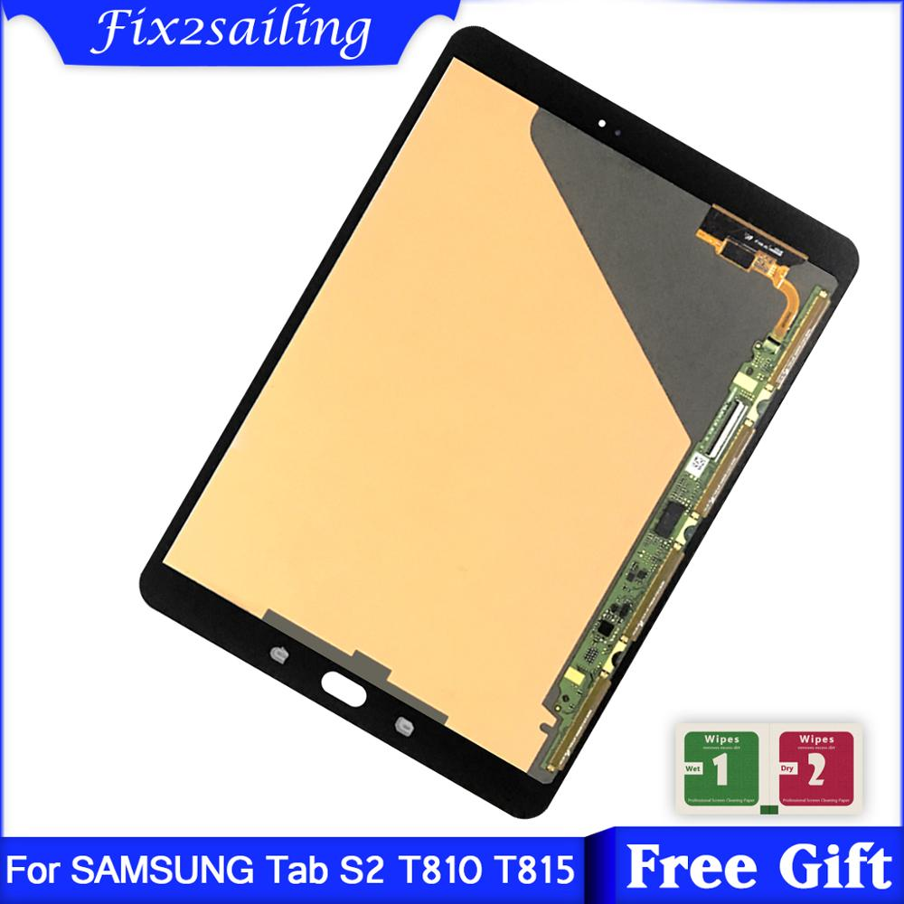 Gold Samsung Galaxy Tab S2 9.7 T810 LCD Display Touch Digitizer Assembly