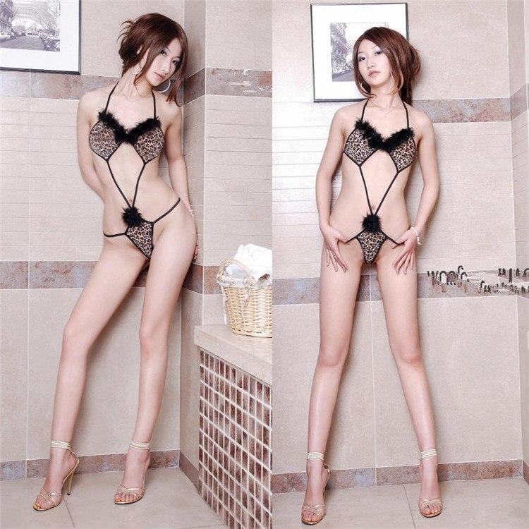 Women Sexy Lingerie Hot Plus Size Perspective Lace Sex Dress Erotic Underwear Halter Porno Lenceria Sex Babydoll Costumes