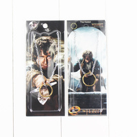 Pendants One Bilbo Hobbit Gold Keychain 2.5cm Free Shipping toy