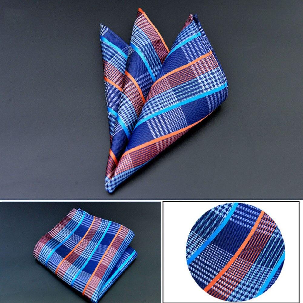 2019 Vintage Men British Design Floral Print Pocket Square Handkerchief Chest Towel Suit Accessories 3.5