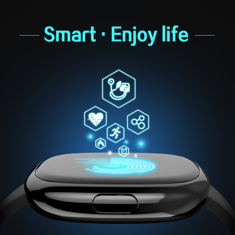 Smart Band P2 Blood Pressure Heart Rate Monitor Smart Bracelet Pedometer Smart Fitness Tracker for Android IOS Smartphones 4