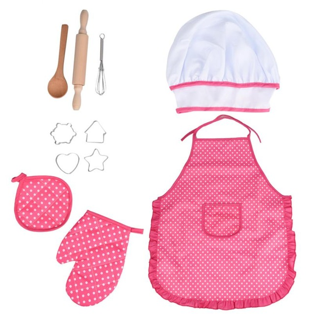 HIINST-Kids-Cooking-And-Baking-Set-11pcs-Kitchen-Costume-Role-Play-Kits-Apron-Hat-funny-toy.jpg_640x640