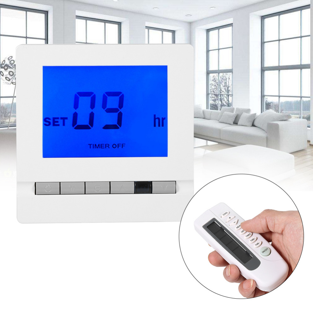 Electric Floor Heating Room Touch Screen Thermostat Warm Floor - Heated floor timer