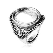 15*20 мм 2018 новое покрытие из сплава круглое кольцо пустая