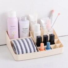 SYTH Desktop Cosmetic  Saving Space cosmetics and Sundries Organizer Plastic Storage Box make up organizador
