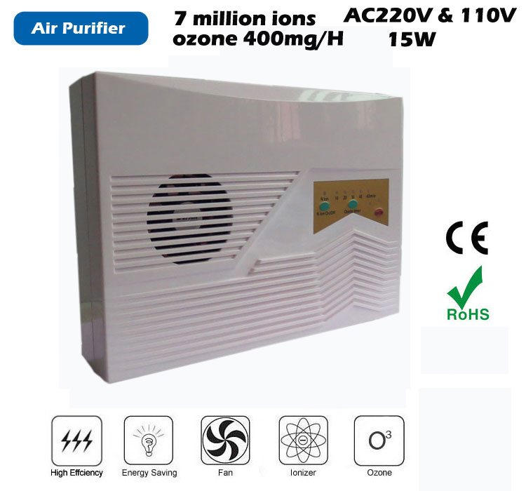 multi function Ionizer Air Purifier,Ozone output 400mg/H