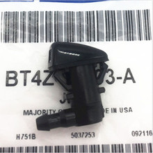OEM 7C3Z17603A Windshield Wiper Water 2 Jet Spray Nozzle Pair For 2008-2010 Ford F250 F350 2008-2011 Ford Focus 7C3Z-17603-A