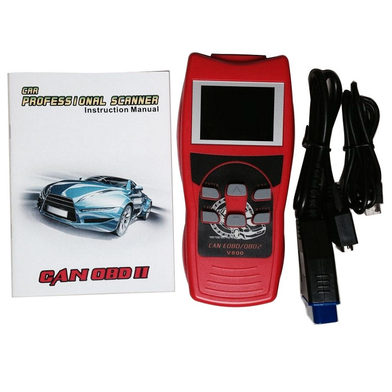 Best Fixd Review Obd2 Qr Code Online Reader Lcd Screen New CAN Protocol Scanner V800