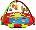 LEOBEI Brinquedos Educativos Jogo do Bebê Ginásio Tapete Infantil Cobertor Esteira do Jogo Atividade 3D Frete Grátis