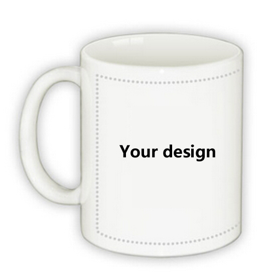 11oz Blank Sublimation Mugs Cup Ceramic Diy Logo Mugs For