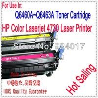 Use For HP 4730 Toner Cartridge,Toner Cartridge For HP Color Laserjet 4730 Printer,Use For HP Toner Q6460A Q6461A Q6462A Q6463A