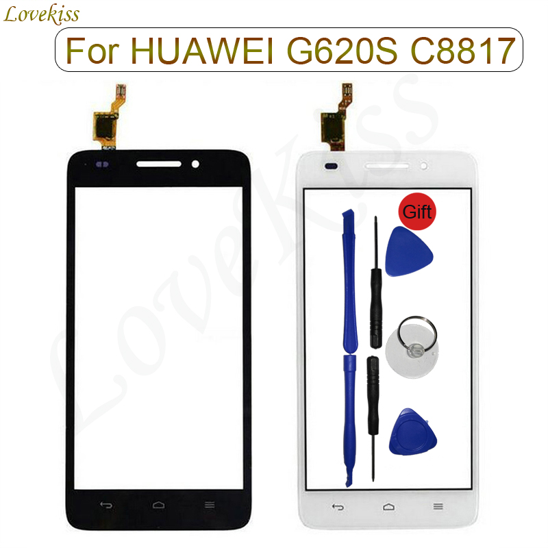 Touchscreen Front Panel For <font><b>Huawei</b></font> <font><b>G620S</b></font> Honor 4 Play <font><b>Touch</b></font> <font><b>Screen</b></font> Sensor C8817 C8817D <font><b>LCD</b></font> Display Digitizer Glass Replacement image