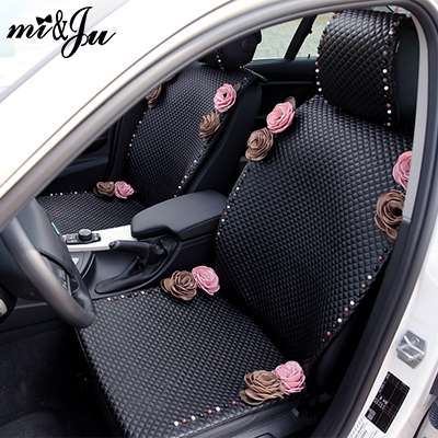Girls Womens Cute Cartoon Flower High Quality Rose Universal Car Seat Cover Set In Automobiles Covers From Motorcycles On