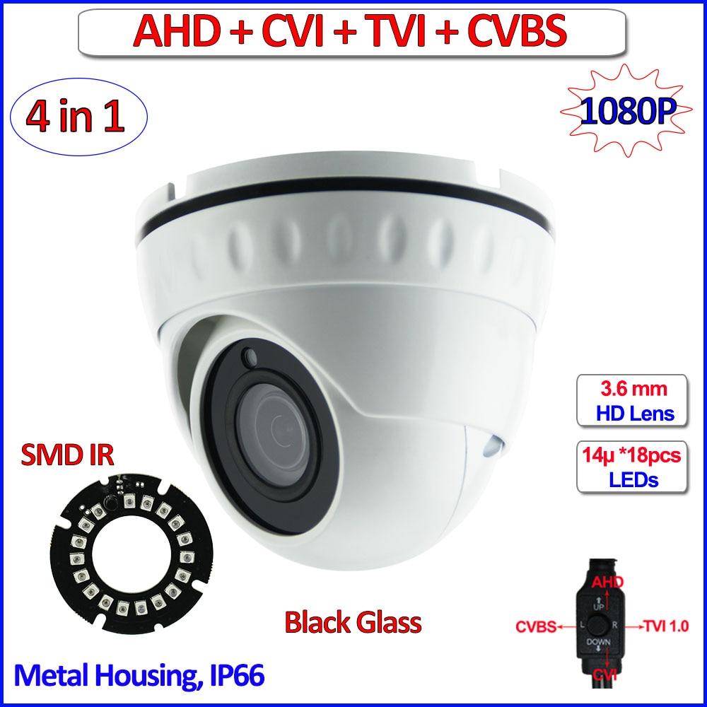 4in1 2.0MP 1080P CVI TVI 960H AHD-H mini camera Night Vision 1MP 720P AHD camera, CMOS CCTV, OSD, 2MP HD Lens, UTC, IR-CUT, WDR ahd m l video camera security 1 0mp sensor 720p cmos hd analog 960h camara vigilancia vandalproof 24pcs led osd hd lens ir cut