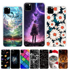 For iPhone 11 2019 Case Silicone TPU Soft Print Cover Pro Max Phone Ultra thin 11Pro