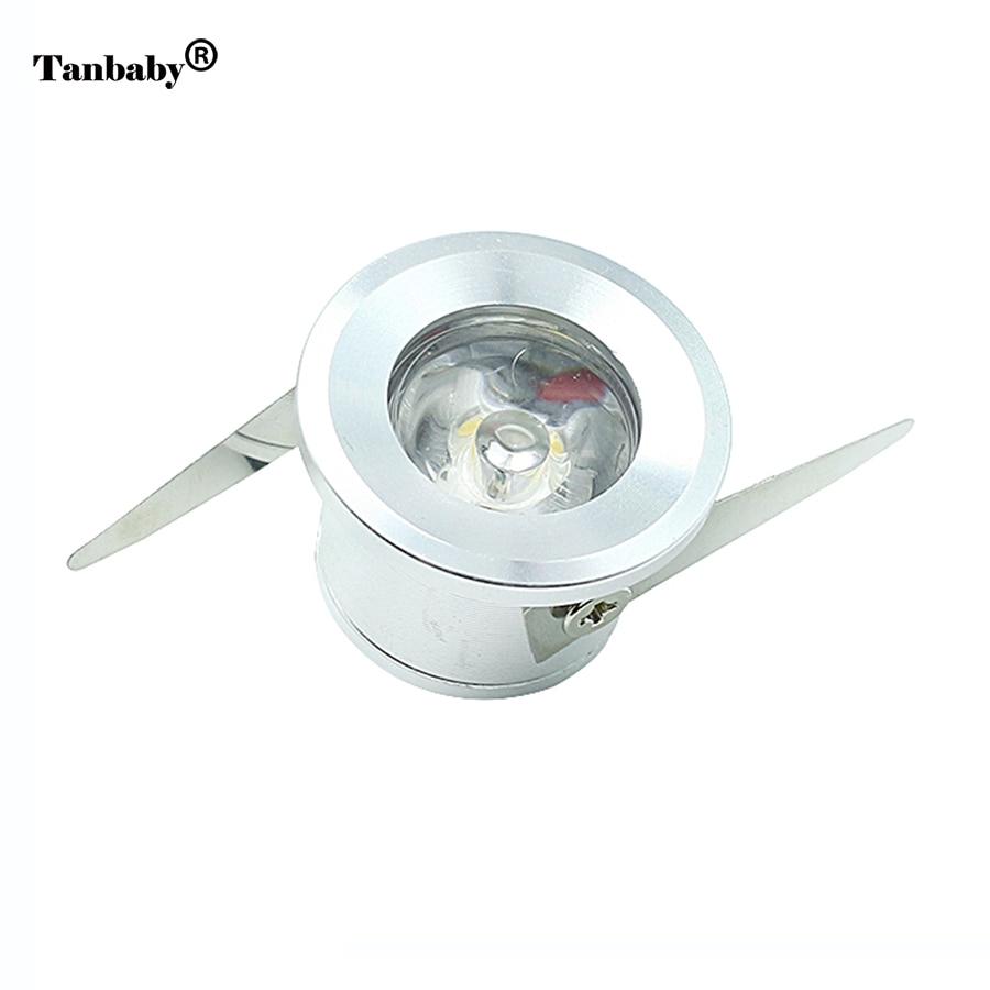 Tanbaby 10st onder kabinetspots 1W wit plafondkast licht Hoge - LED-Verlichting - Foto 1