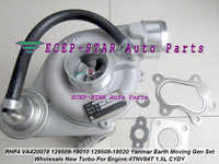 RHF4 VA420078 CYDY 129508-18010 129508-18020 12950818010 Turbo Turbocharger For Yanmar Earth Moving Gen Set Marine 4TNV84T 1.5L