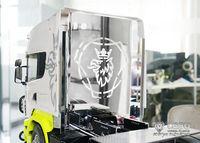 LESU Metal Protection Board of Driving Cab 1/14 RC Tractor Truck Scania TAMIYA