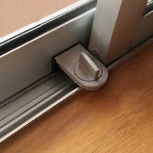 1pcs Japanese Style Free shipping Window sliding door Baby Safety Lock Doors security Anti theft lock