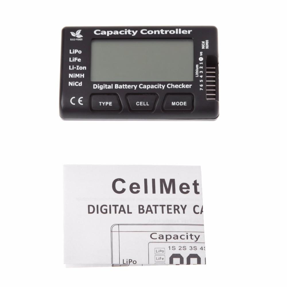 New RC CellMeter-7 Digital Battery Capacity Checker For Nicd NiMH LiPo LiFe Li-ion hot f01974 digital battery capacity checker cell meter for nicd nimh li po life li lon akku cellmeter 7