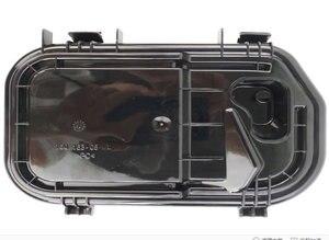 Image 3 - لأودي A6L C6 05 11 مقاوم للماء الغبار غطاء كشافات الغطاء الخلفي غطاء مطاطي الجبهة العلوي الغطاء الخلفي 1 قطعة