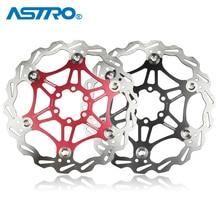 ASTRO MTB kerékpár úszó tárcsafék AL7075 CNC hegyikerékpár fékhengerek 160mm / 180mm hidraulikus tárcsafék kerékpáralkatrészek