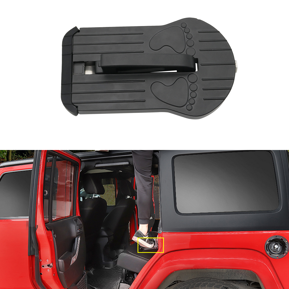Multifunction Foldable Car Door Hook Pedals Vehicle Rooftop Roof Rack Assistance Door Step Ladder Auto Slam Latch Doorstep #20 Elegant And Sturdy Package Automobiles & Motorcycles