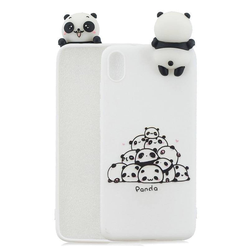FLYKYLIN 3D Soft TPU Silicone Doll Cartoon Skin Phone Case For Xiaomi Redmi Phones 4